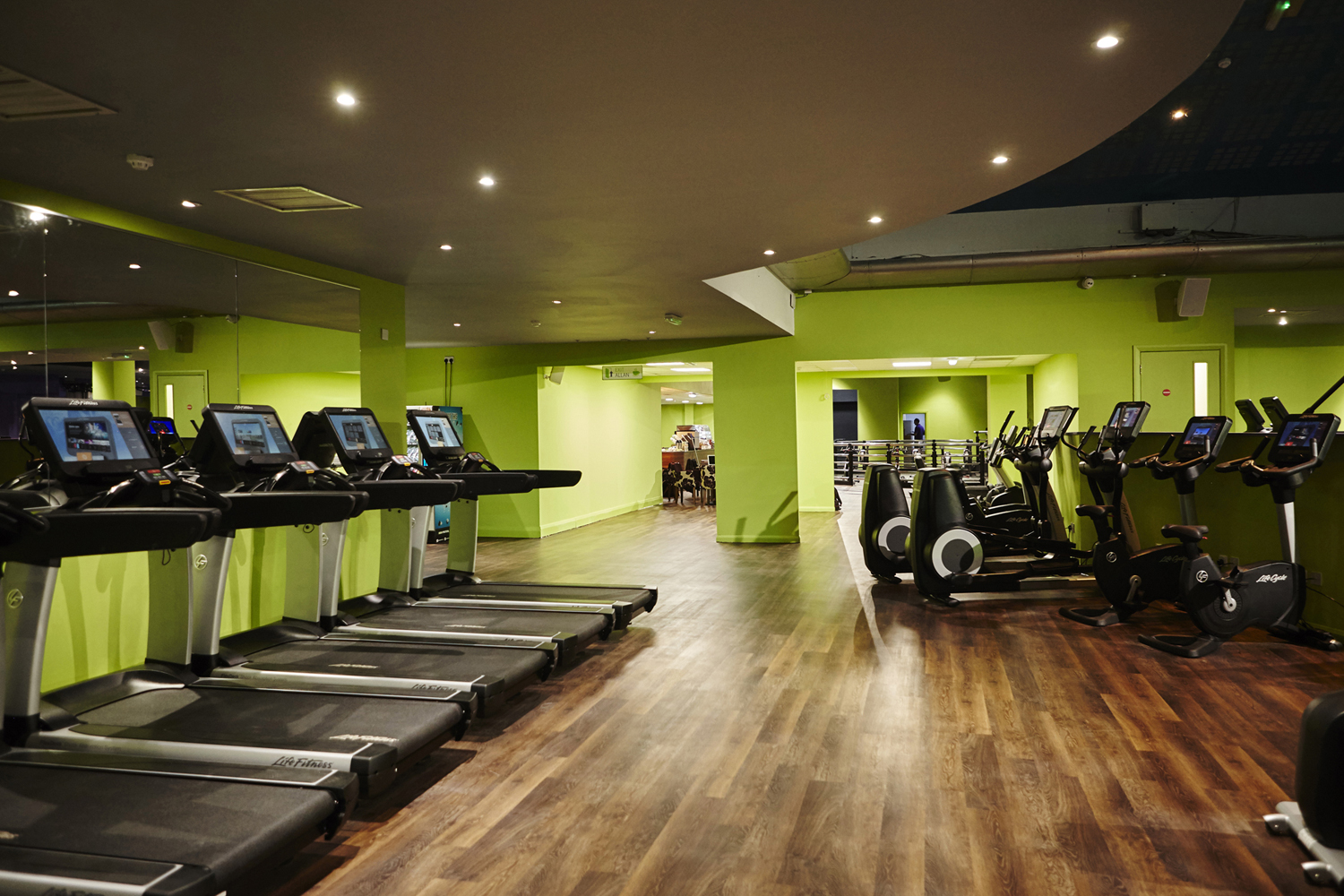 Cardiff bay simply gym brand new in
