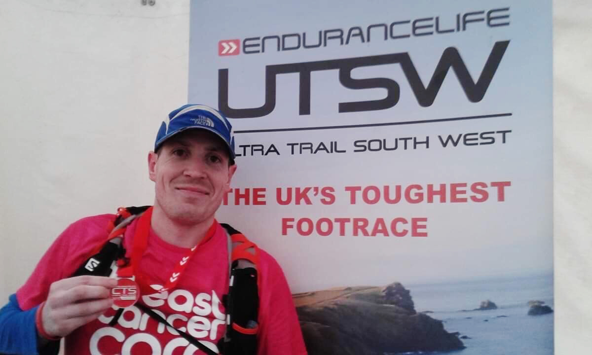 Lee Morris - Next to Ultra Trail South West Banner