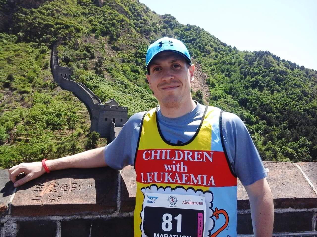 Lee Morris - Running for Children with Leukaemia